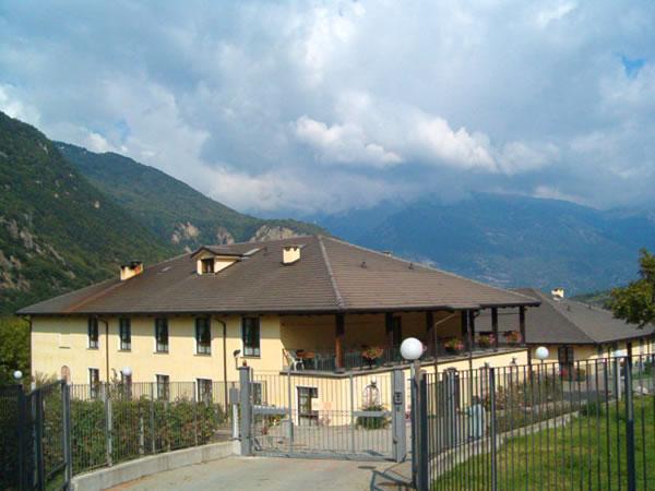 Casa Amica e il suo panorama
