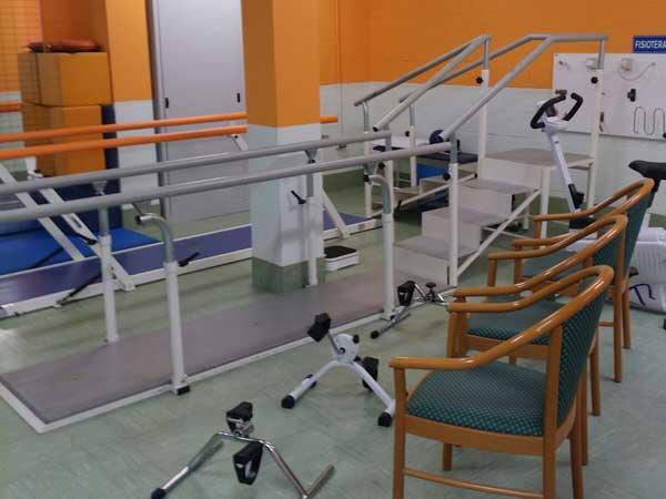 Palestra per fisioterapia e attività motorie