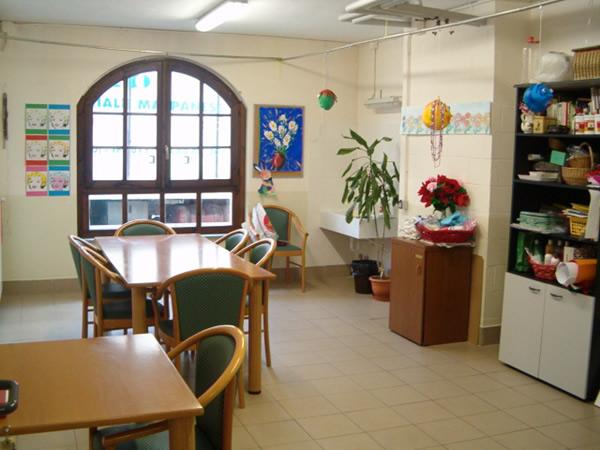 Sala per le attività ricreative