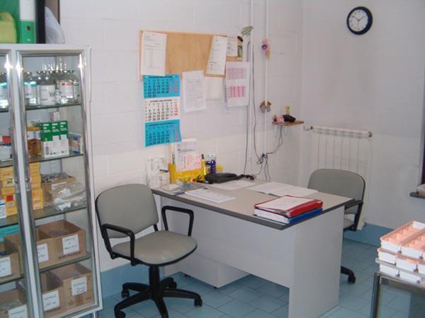 Saletta per le visite mediche
