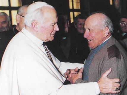Incontro con Papa Giovanni Paolo II